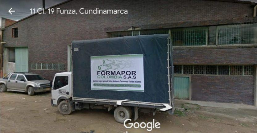 ubicacion formapor
